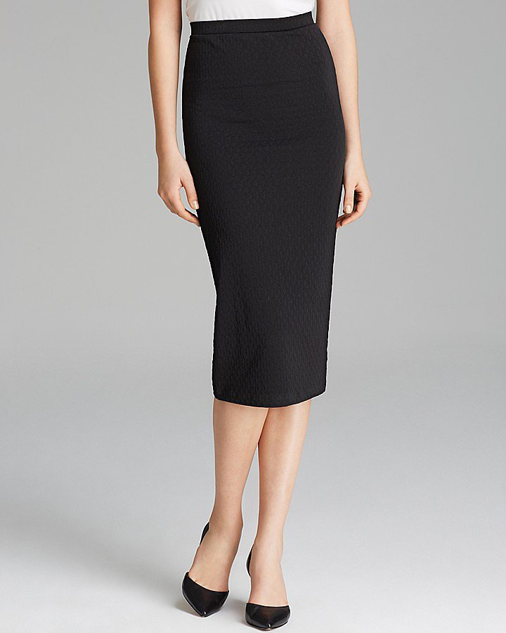 aqua black pencil skirt has the pencil skirt been