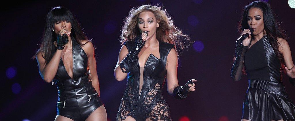 Flash Back Friday to Beyoncé's Stylish Super Bowl Performance!
