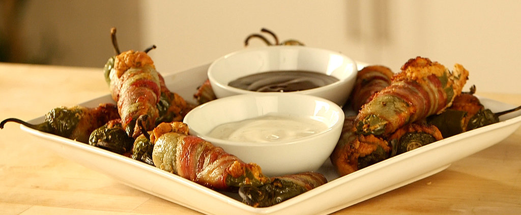 Bacon-Wrapped Jalapeño Poppers Are Everything You Ever Wanted