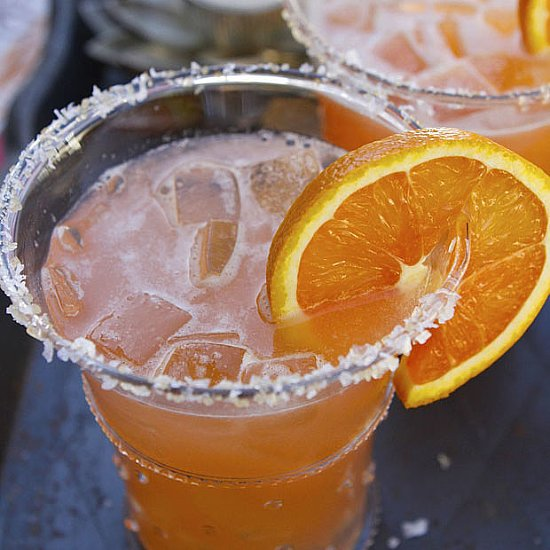 Orange, Vodka, and Pomegranate Cocktail Recipe