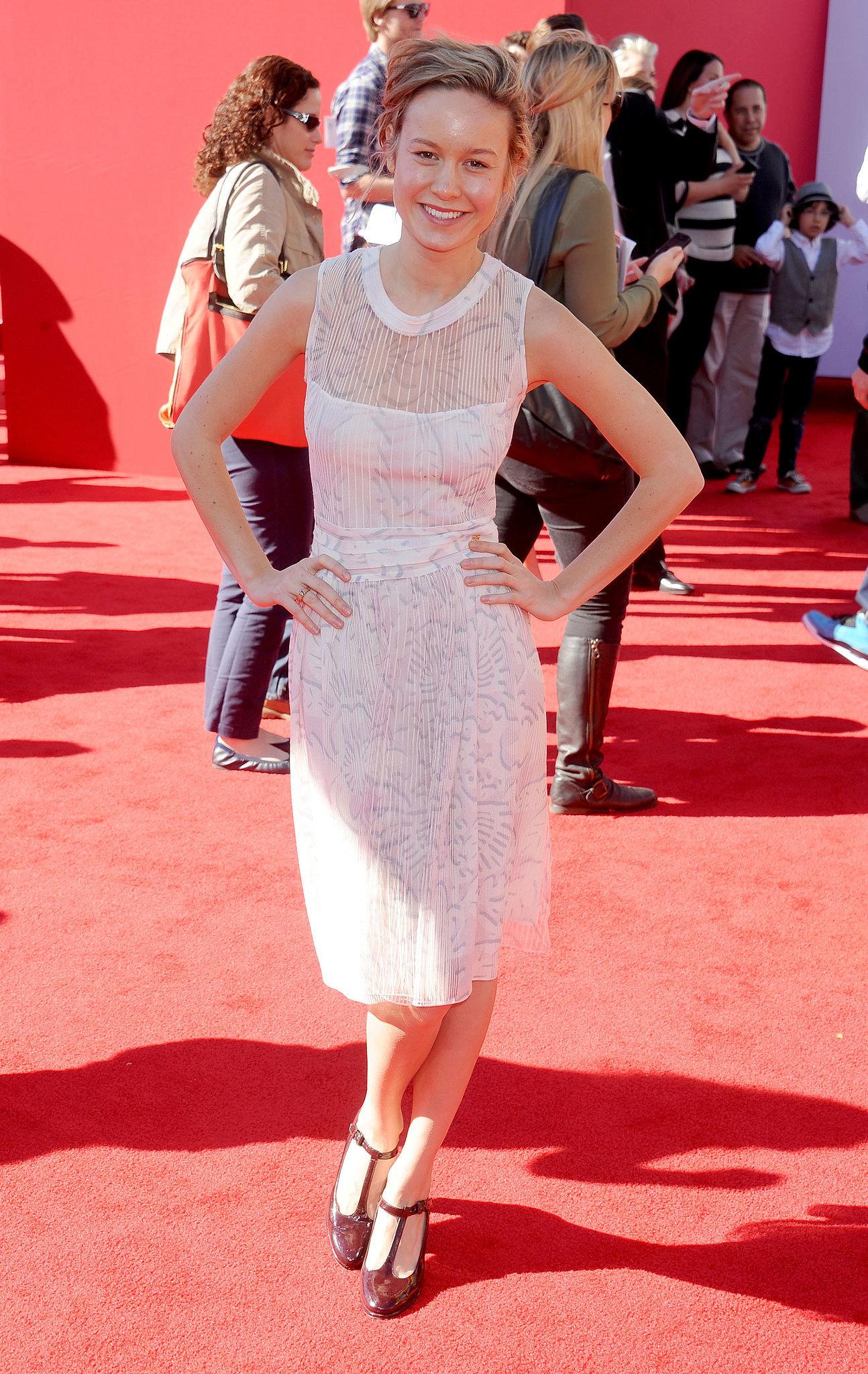 Brie Larson at the LA premiere of The Lego Movie.