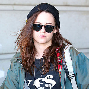 Kristen Stewart Wears a Sweatshirt to LAX | Pictures
