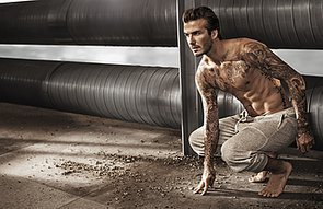 Man Crush Monday: David Beckham Takes It All Off For H&M