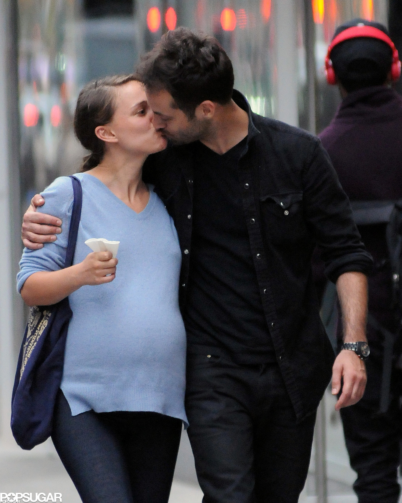 Natalie Portman and Benjamin Millepied couldn't keep their hands off each other in May 2011 in NYC.