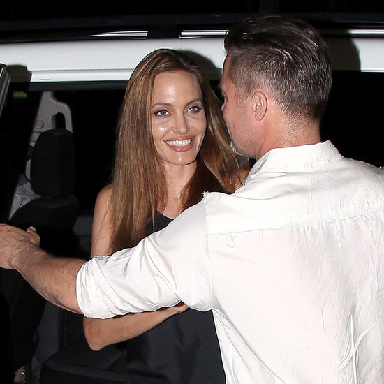 Angelina Jolie and Brad Pitt at Unbroken's Wrap Party