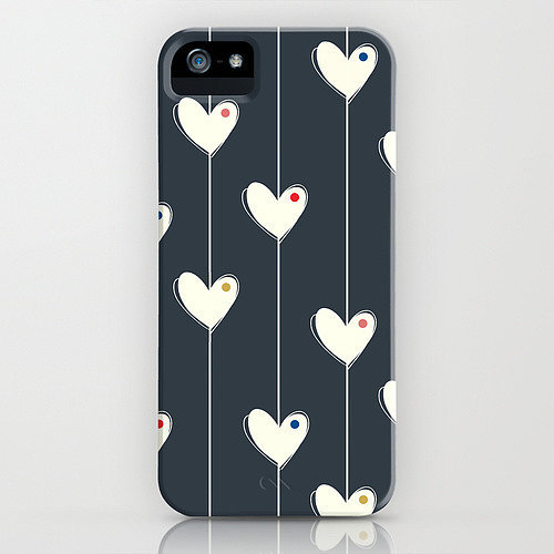 Heart garland case ($35) for iPhone models and Samsung Galaxy S4