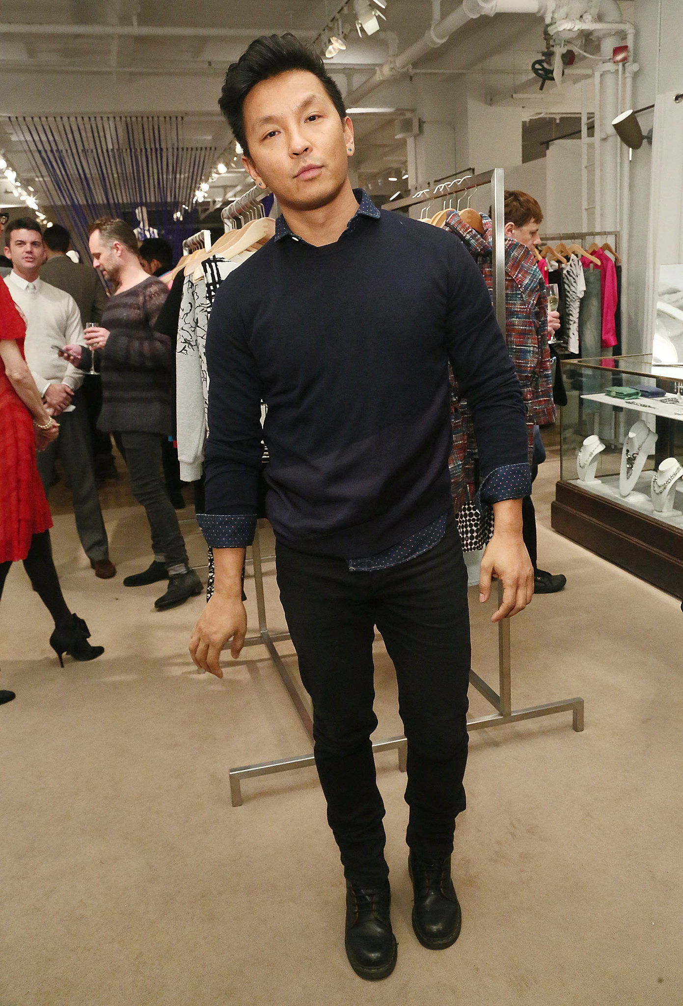 Prabal Gurung at the VIP kickoff for Jeffrey Fashion Cares.
