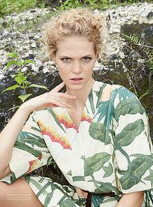 Erin Heatherton Poses in Bali For Russh Magazine