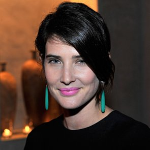 Cobie Smulders's Hot Pink Lipstick at Barneys New York Event