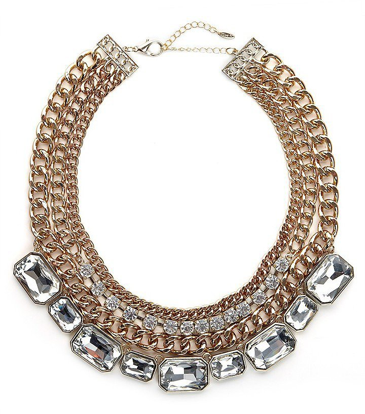 BaubleBar Tiered Gem Collar ($46)