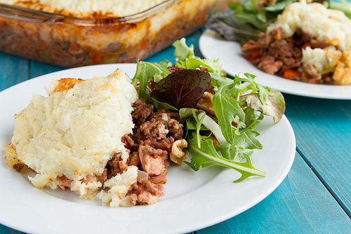 Bacon Shepherd's Pie