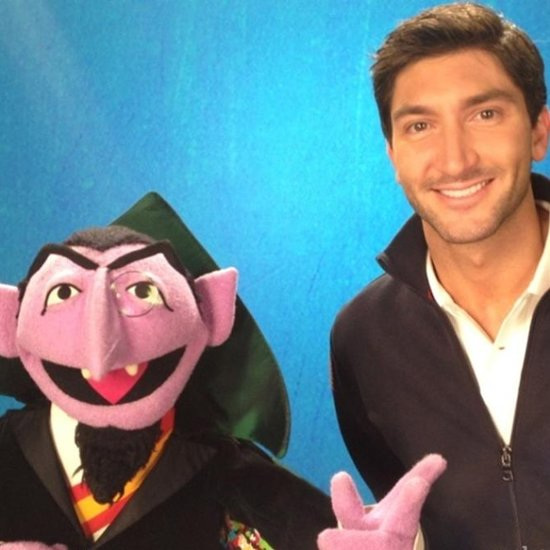 Evan Lysacek Teaches Confidence on Sesame Street