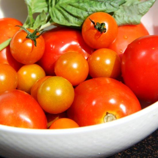 Calories in Raw Veggies