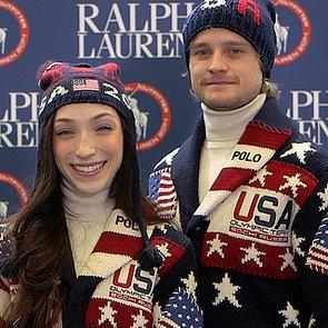 Watch Team USA Get Ralph Lauren Olympic Uniforms