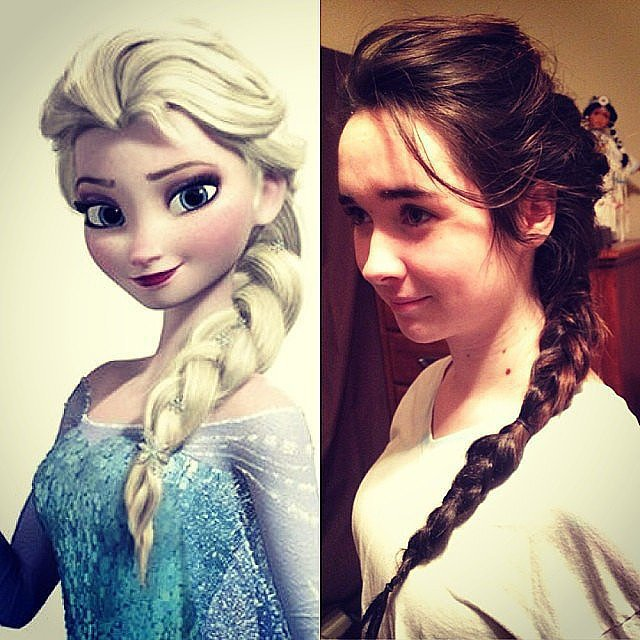 How to Do Your Hair Like Anna and Elsa From Frozen | POPSUGAR Moms