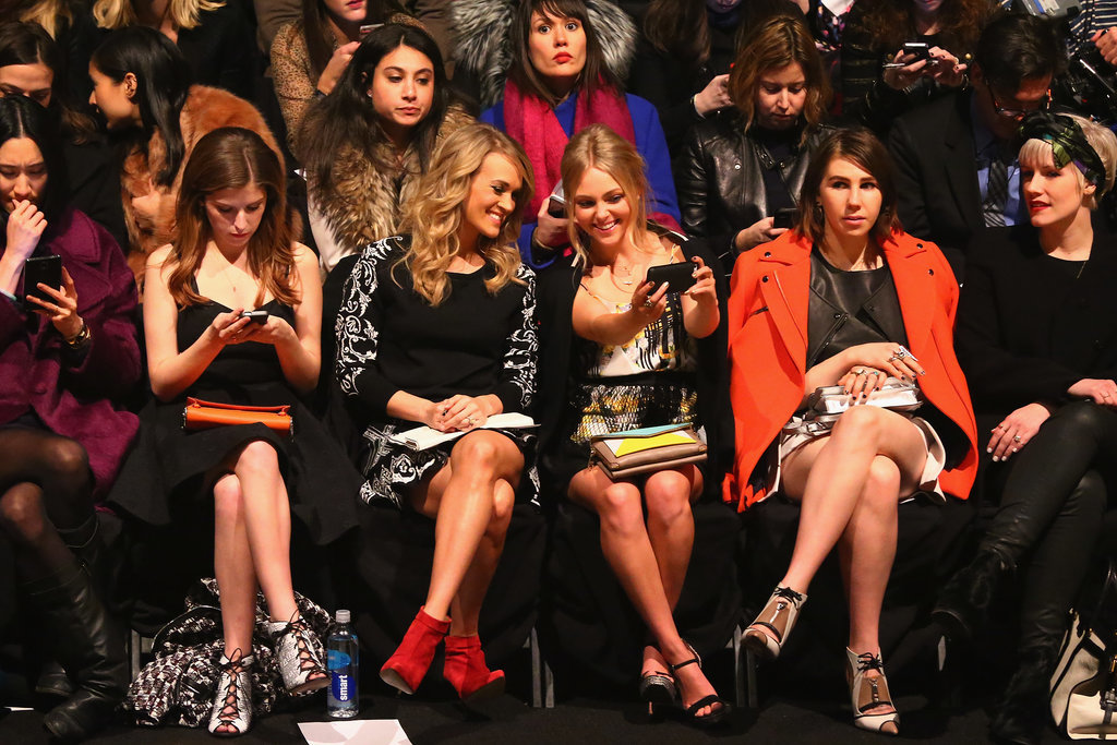 Famous Faces Take Front Row at New York Fashion Week
