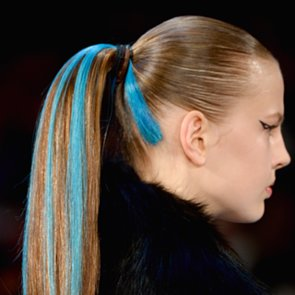 Herve Leger Fall 2014 Hair and Makeup | Runway Pictures
