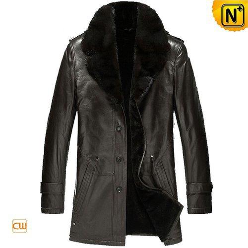 Fur Lined Shearling Sheepskin Coats CW868831