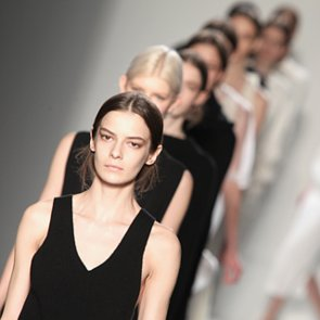 Victoria Beckham Fall 2014 Hair and Makeup   Runway Pictures