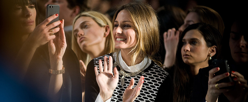 Front Row at NYFW With Olivia Palermo