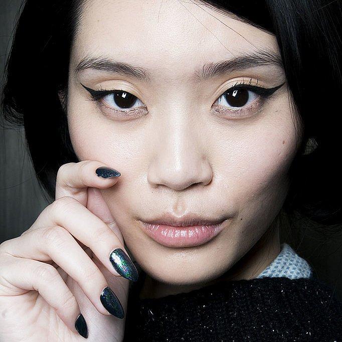 cateye makeup trends fall 2014 new york fashion week