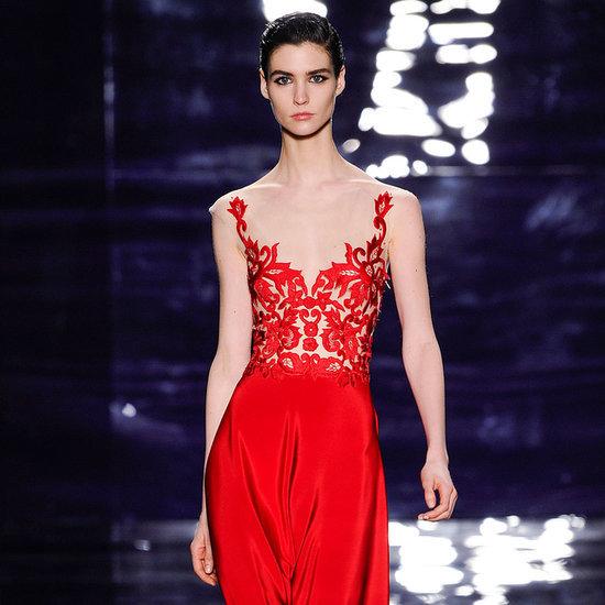 Reem Acra Fall 2014 Runway Show | New York Fashion Week