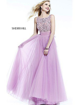 Orchid Sherri Hill 11022 Long Prom Dress