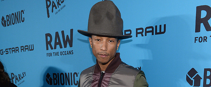 He's Back . . . What Was Pharrell's Hat Up to This Time?