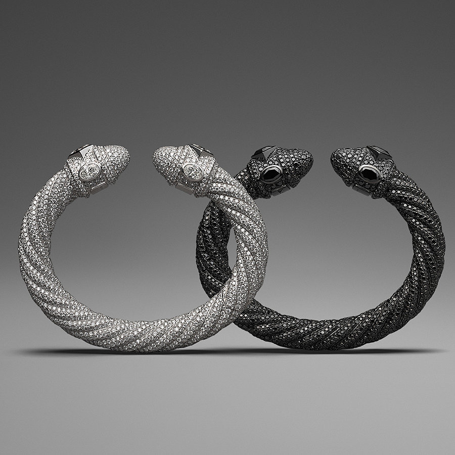David Yurman Diamond Pavé Cable Bracelet