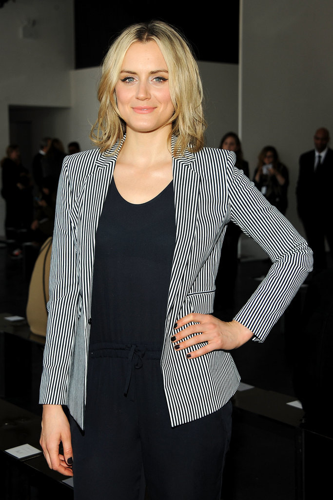 Taylor Shilling kept it simple.