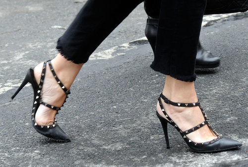 "Valentino pumps are always a ""do."""