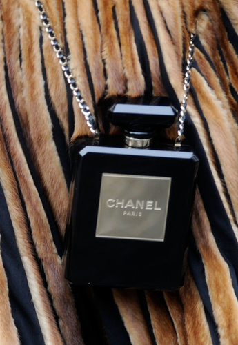 I mean, what's chicer than toting Chanel No. 5?