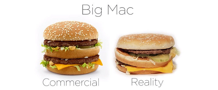 McDonald's: Ads vs. Reality