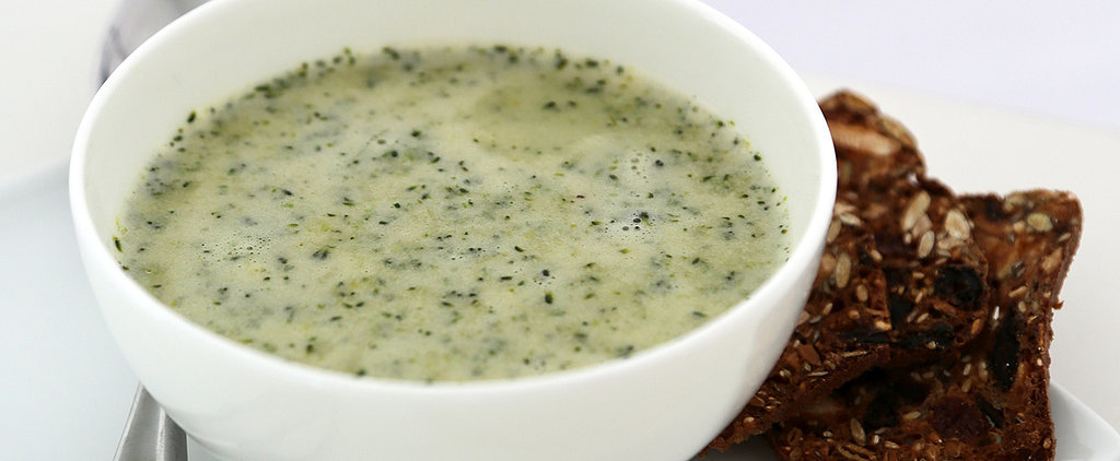 A Broccoli Soup Richened With Greek Yogurt