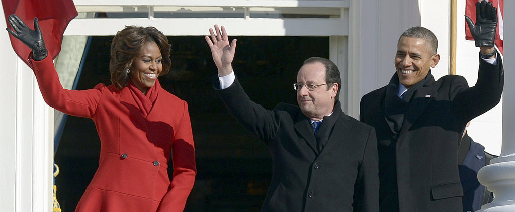 Here's How the White House Welcomed the French President