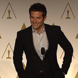 Bradley Cooper Interview at 2014 Oscars Lunch (Video)