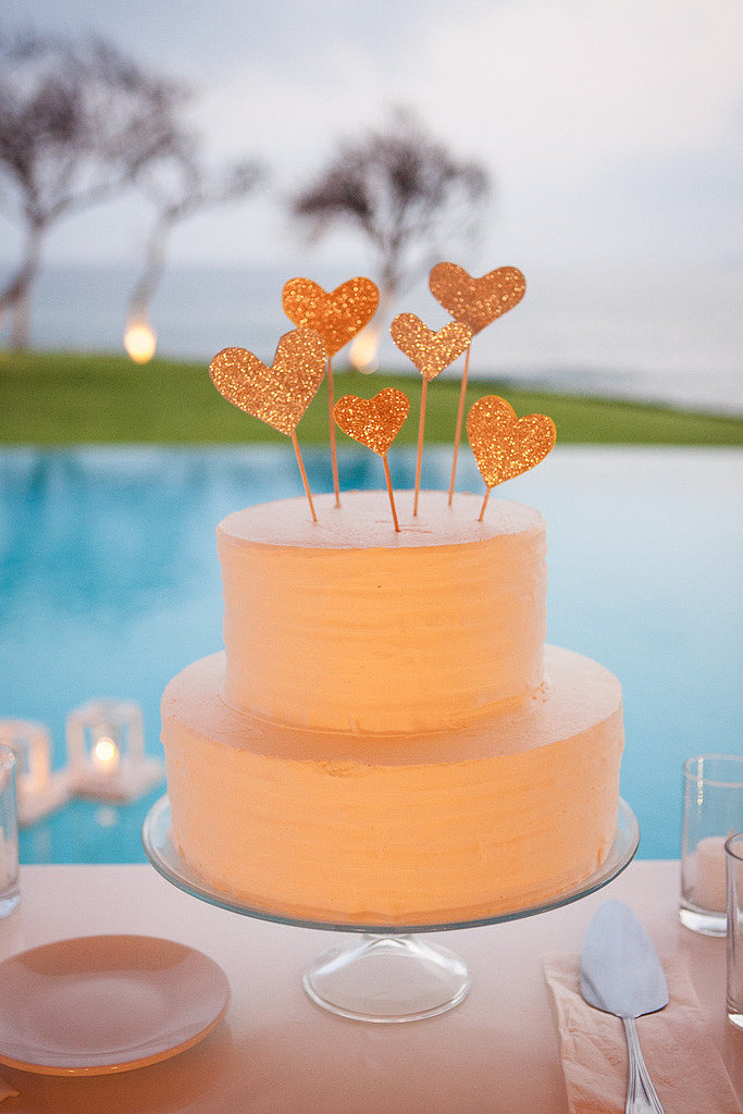 Glitter Cake Toppers
