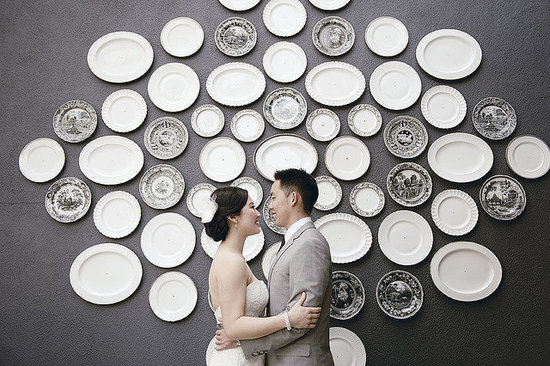 Oh Snap! The Most Creative Wedding Photo Backdrops Ever