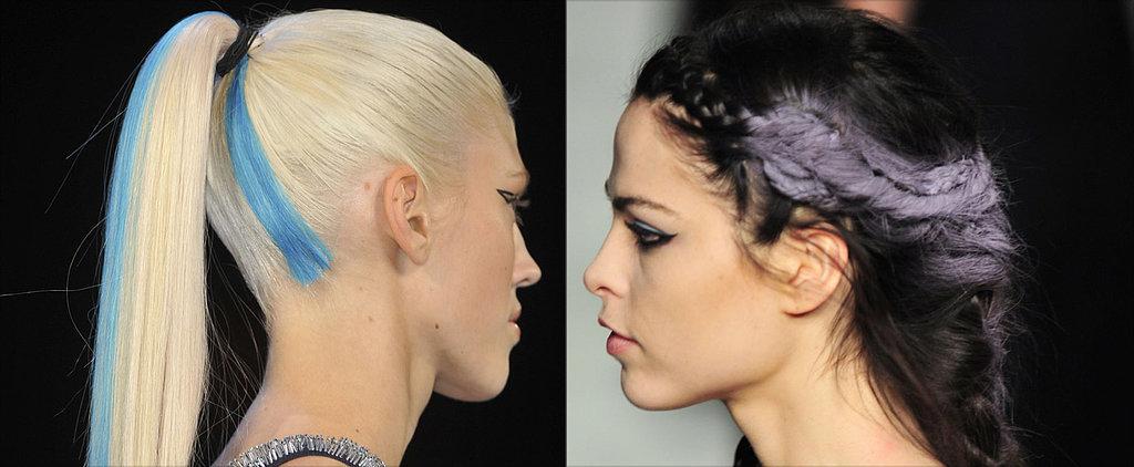 Neon Hair Rocked the Fashion Week Runways