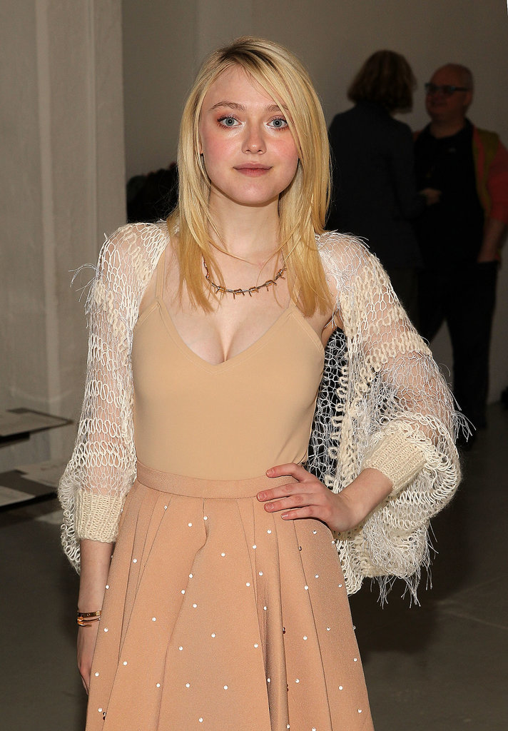 Dakota  Fanning  New  York  Fashion  Week