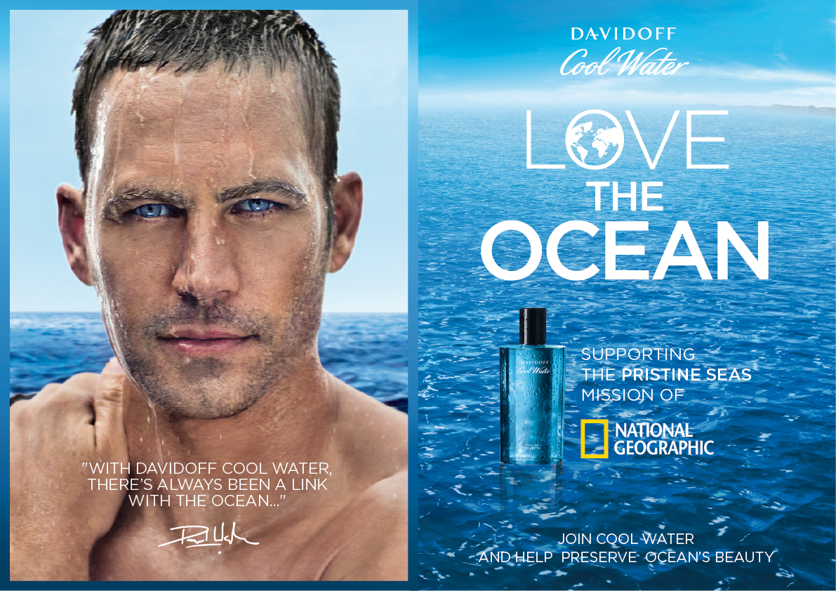 Paul Walker For Davidoff
