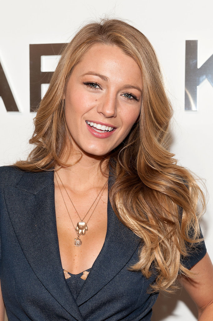 Blake Lively Has the Best Seat in the House