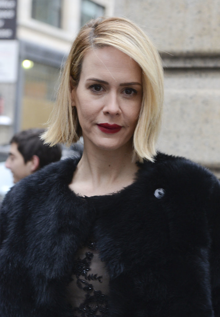 Sarah Paulson at Marchesa