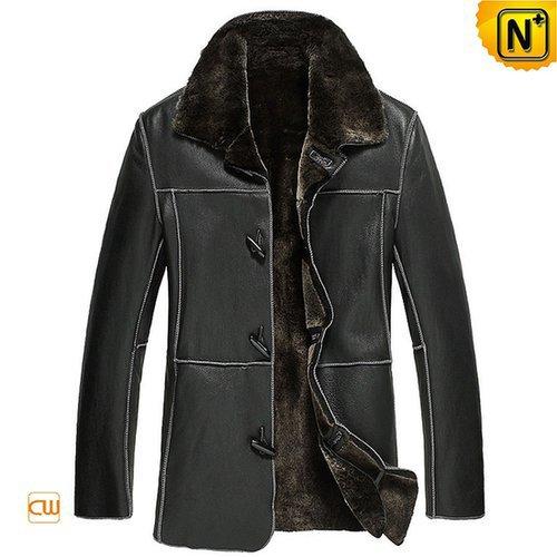 Shearling Sheepskin Jacket Coat Men CW878574