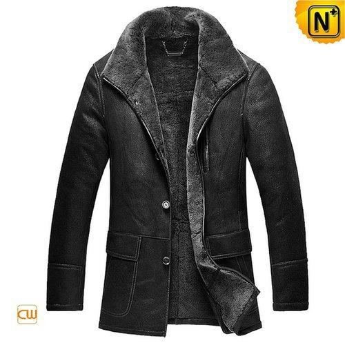 Mens Leather Fur Sheepskin Coats CW878579