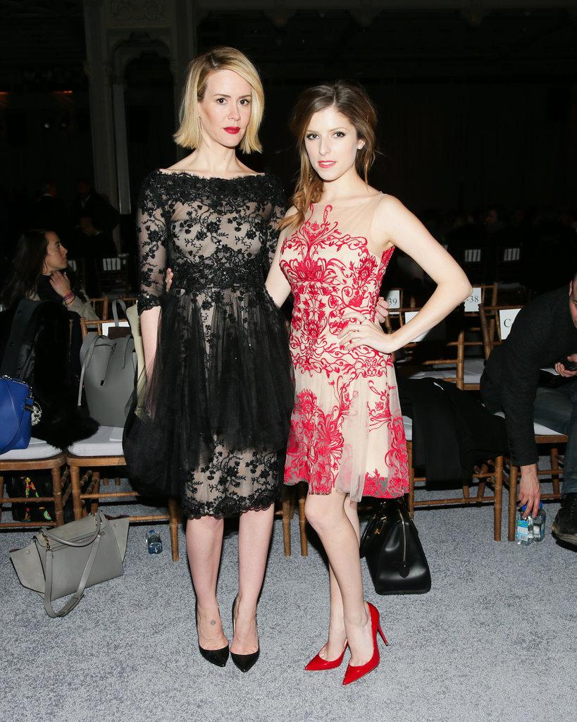 Sarah Paulson and Anna Kendrick