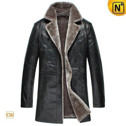 Men's Shearling Sheepskin Coats CW877178