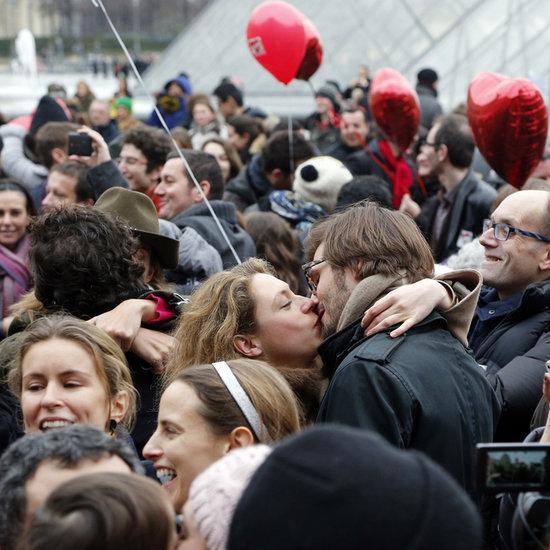 Paris Valentine's Day Flash Mob