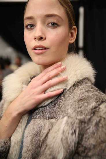Your Lazy-Girl Nail Choice Is Runway Approved