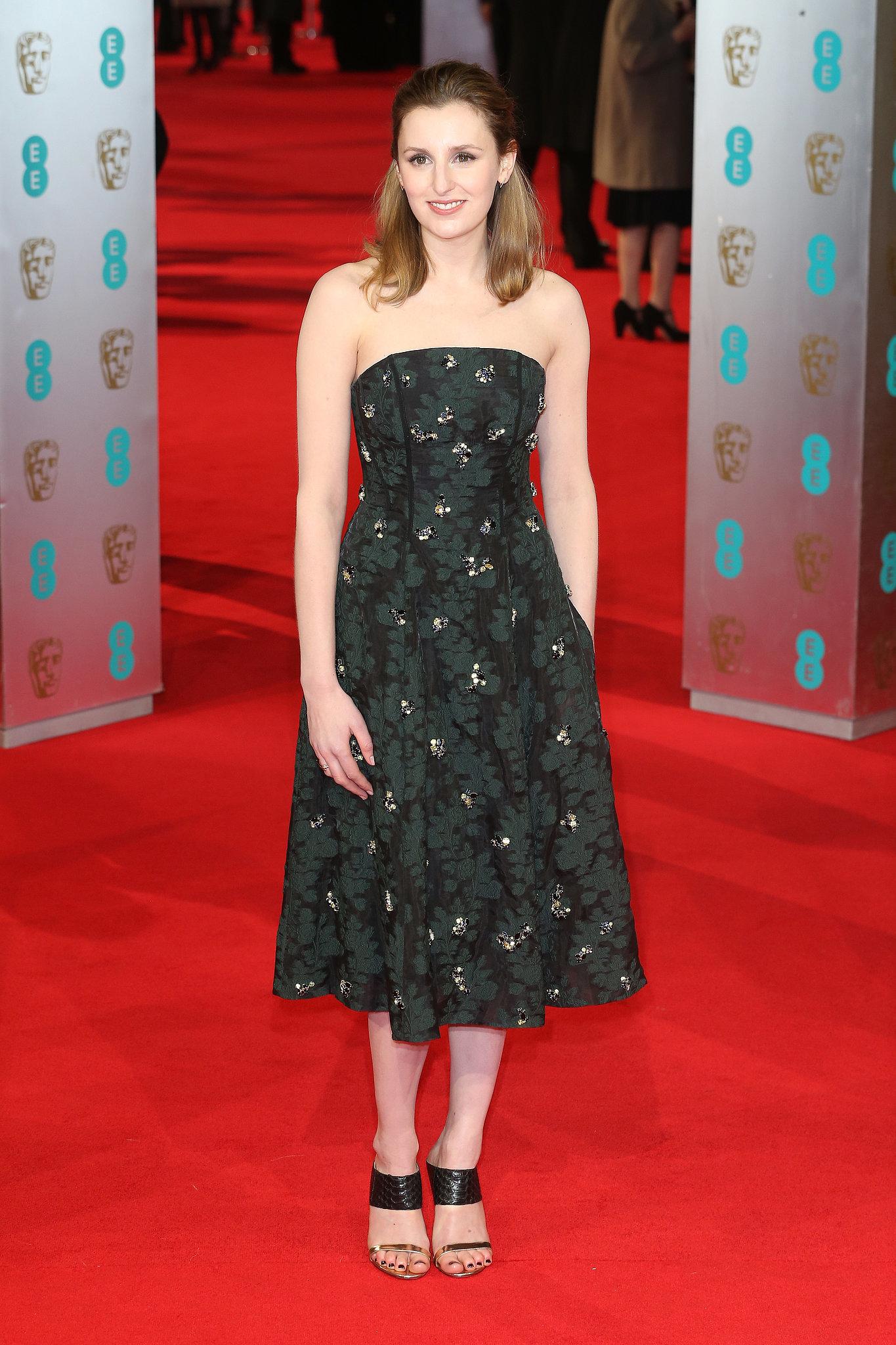 Laura Carmichael on the 2014 BAFTA Red Carpet